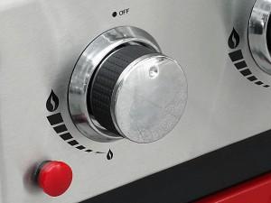 Ignition & control knob