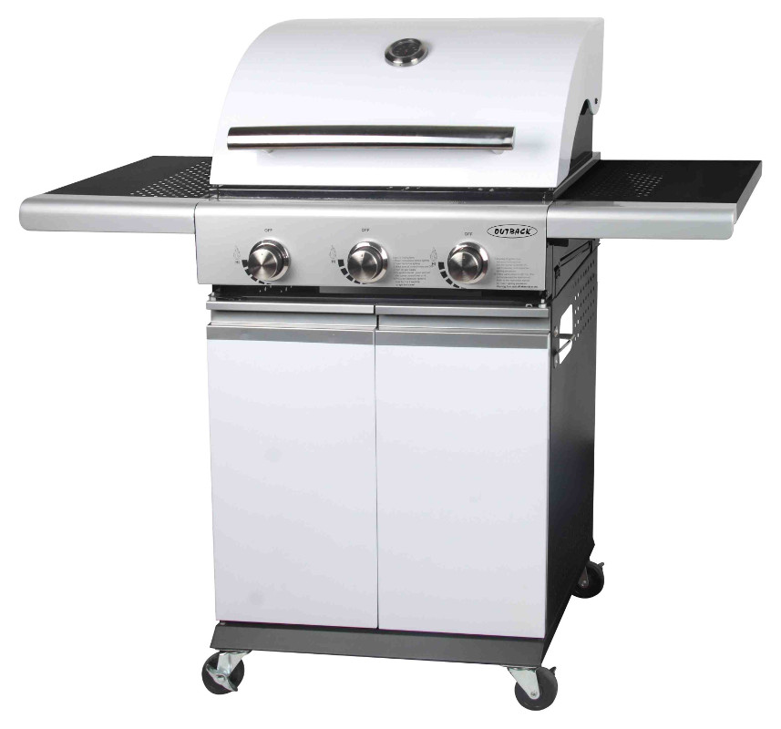 Seattle 3 Burner :: Outback Barbecues