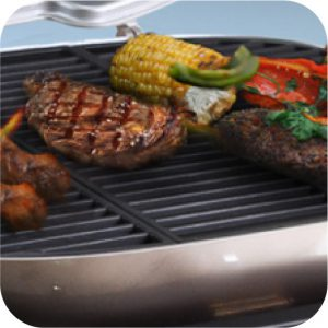 X-Grill with Food